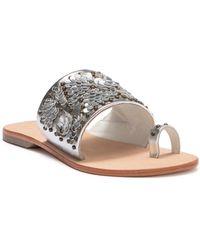 Lfl - Flawless Leather Slide Sandal - Lyst