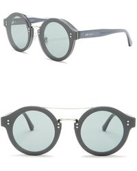 316dca25600 Jimmy Choo - Montie 64mm Round Aviator Sunglasses - Lyst
