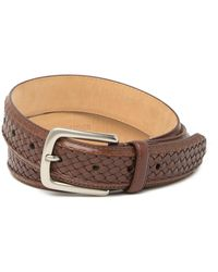 Tommy Bahama - Woven Braided Leather Belt - Lyst