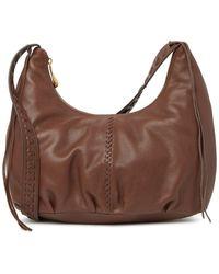 Hobo International Basin Leather Shoulder Bag - Brown