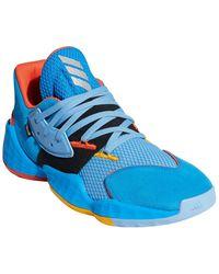 adidas Harden Vol. 4 Su Casa Basketball Shoe - Blue