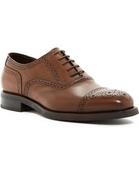 Bruno Magli - Morris Leather Oxford - Lyst