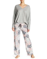 Pj Salvage - Chasing Dreams Floral Pajama Pants - Lyst