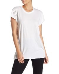 The Laundry Room Rolling Crew Neck T-shirt - White