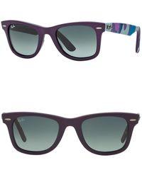 Ray-Ban 50mm Wayfarer Sunglasses - Multicolor