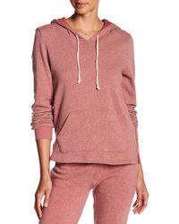 Alternative Apparel - Fleece Hooded Pullover - Lyst