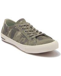 Seavees Monterey Camo Sneaker - Green
