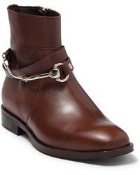 Ron White Eadlin Leather Bootie - Brown