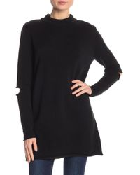 Love Token - Elbow Slit Long Sleeve Sweater - Lyst