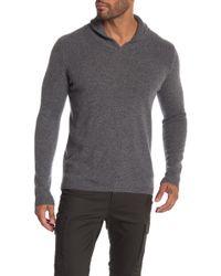Autumn Cashmere - Modified Shawl Stitch Yoke Cashmere Sweater - Lyst