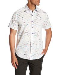 Robert Graham - Farnsworth Short Sleeve Woven Classic Fit Shirt - Lyst