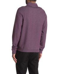 Cole Haan Full Zip Track Jacket - Purple