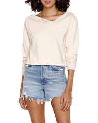 Heartloom Avery Surplice Sweatshirt - Multicolor
