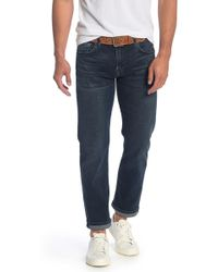 7 For All Mankind Standard Luxe Active Straight Leg Jeans - Blue