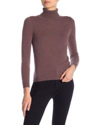 In Cashmere - Cashmere Turtle Neck Sweater - Lyst