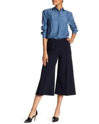 Lafayette 148 New York - Thompkins Wool Blend Culotte Trousers - Lyst