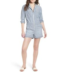 AG Jeans The Rochelle Romper - Blue