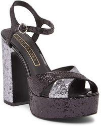 Marc Jacobs Lust Platform Sandal - Black