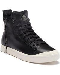 DIESEL - Zip Round Nentish Sneaker - Lyst