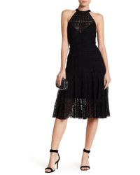 Tracy Reese - Flared Frock Lace Dress - Lyst