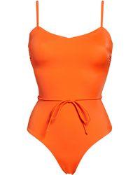 Chelsea28 Easy Retro One-piece Swimsuit - Orange