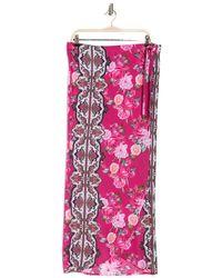 Nanette Lepore Winnie Wrap Skirt - Pink