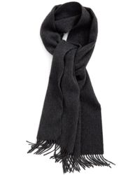 Nordstrom - Solid Cashmere Scarf - Lyst
