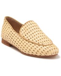 Kaanas Amalfi Woven Leather Loafer - Natural
