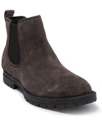 Born Pike Suede Chelsea Boot - Grey