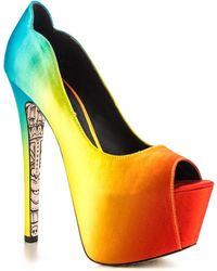 Taylor Says Tiki Gaga Platform Pump - Multicolor