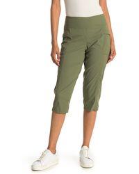 Mountain Hardwear Dynama X Capri Pants - Green