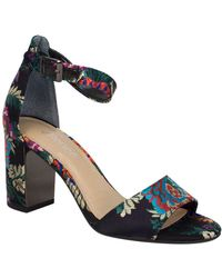 J. Reneé J. Rene Flaviana Ankle Strap Sandal - Black