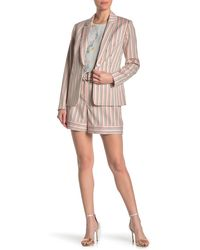 Ted Baker Betiias Tailored Stripe Shorts - Pink