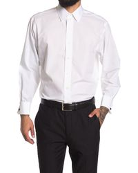 Brooks Brothers Solid Long Sleeve Madison Fit Shirt - White