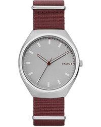 Skagen   Men's Grenen Nylon Strap Watch, 40mm   Lyst