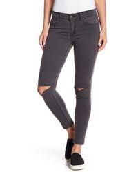 Pistola - Distressed Skinny Jeans - Lyst