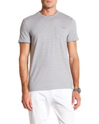 CALVIN KLEIN 205W39NYC - Faux Double Layer Crew Neck Tee - Lyst