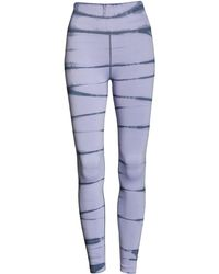 Zella Tie Dye Seamless Ankle Leggings - Blue