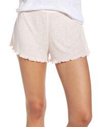 Make + Model Lounge Shorts - Pink