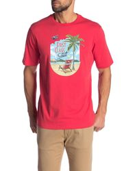 Tommy Bahama - First Class Seat Tee - Lyst