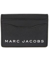 Marc Jacobs - Leather Card Case - Lyst