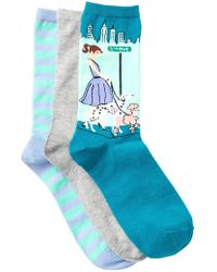 Hot Sox - City Dog - Pack Of 3 - Lyst