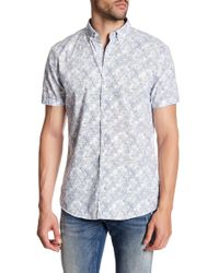 Lindbergh - Confetti Short Sleeve Regular Fit Shirt - Lyst