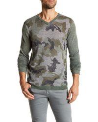 Autumn Cashmere - Camo Inked Cashmere Sweater - Lyst