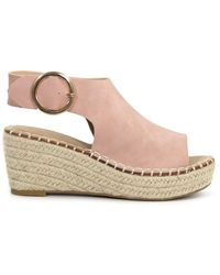 Catherine Malandrino Cirkly Espadrille Wedge Sandal - Multicolour