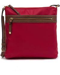 Halogen - Nylon Zip Crossbody Bag - Lyst