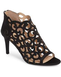 J. Reneé - Mcwayfalls Peep Cutout Bootie - Multiple Widths Available - Lyst