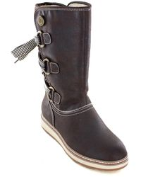 White Mountain Footwear Tivia Faux Fur Lined Boot - Multicolor