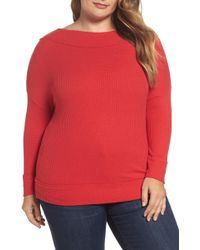 Lucky Brand - Waffle Thermal Top (plus Size) - Lyst
