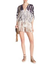 Young Fabulous & Broke Ashley Patterned Romper - Multicolor